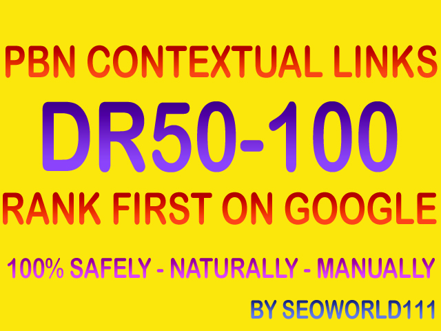 Dofollow 35 PBN Contextual Links - DR50-100 - Rank First On Google