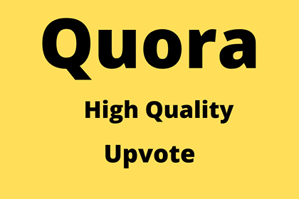 I will Give natural 50 Quora Upvotes from USA