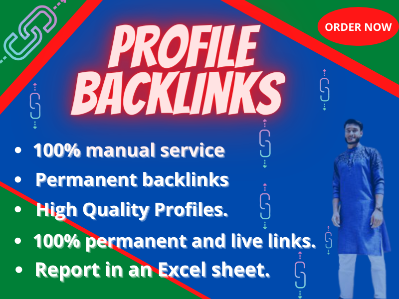 I Will Do 75 High Authority Profile Backlinks DA 95 Plus For Elevate Your Ranking