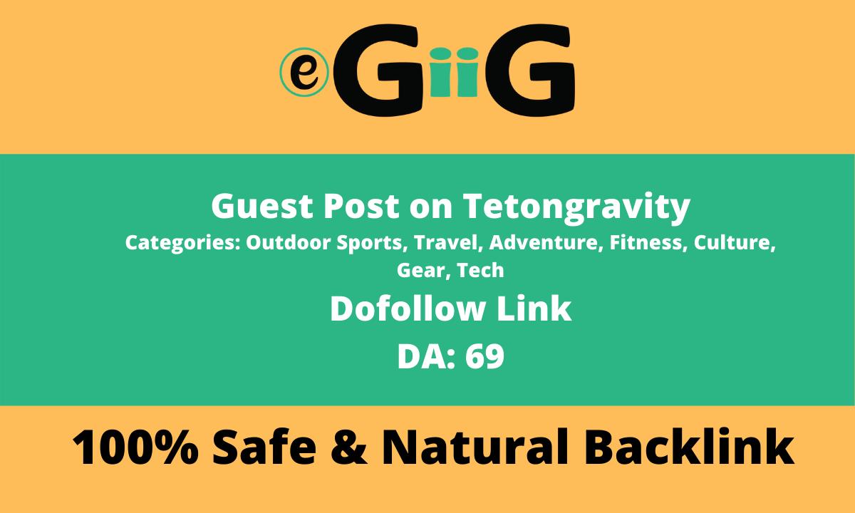 Piblish Guest Post on Tetongravity - Tetongravity. com