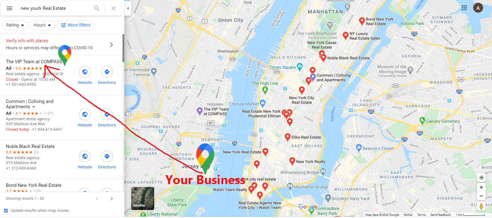 I will skyrocket your local seo ranking with 15000 Google Maps citations with 5 map backlinks
