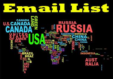 2500 Niche Targeted Verified,  Clean and Active Email List for Email Campaign