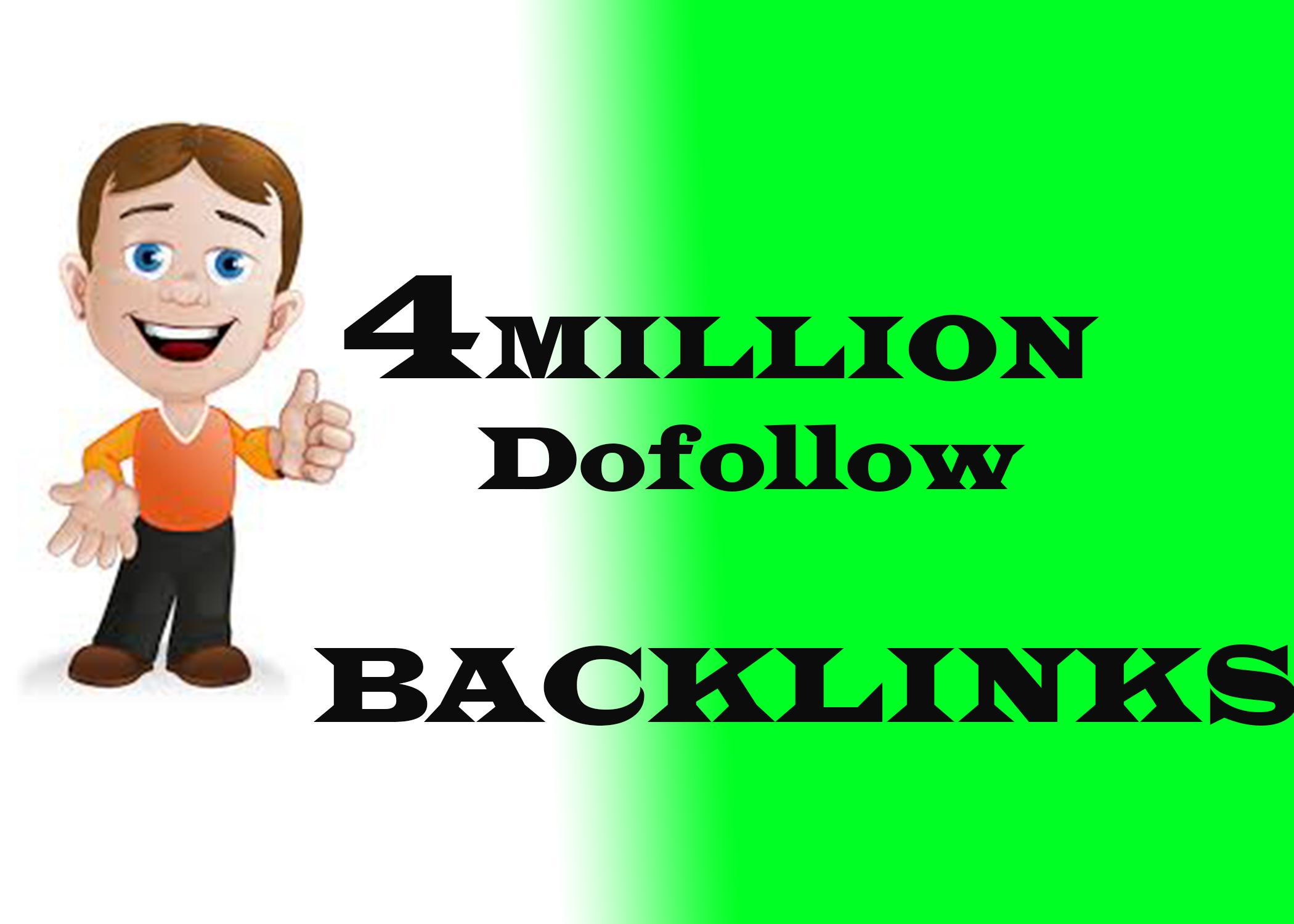 4M GSA SER Dofollow Backlink-Juice Blast for Ranking on Google