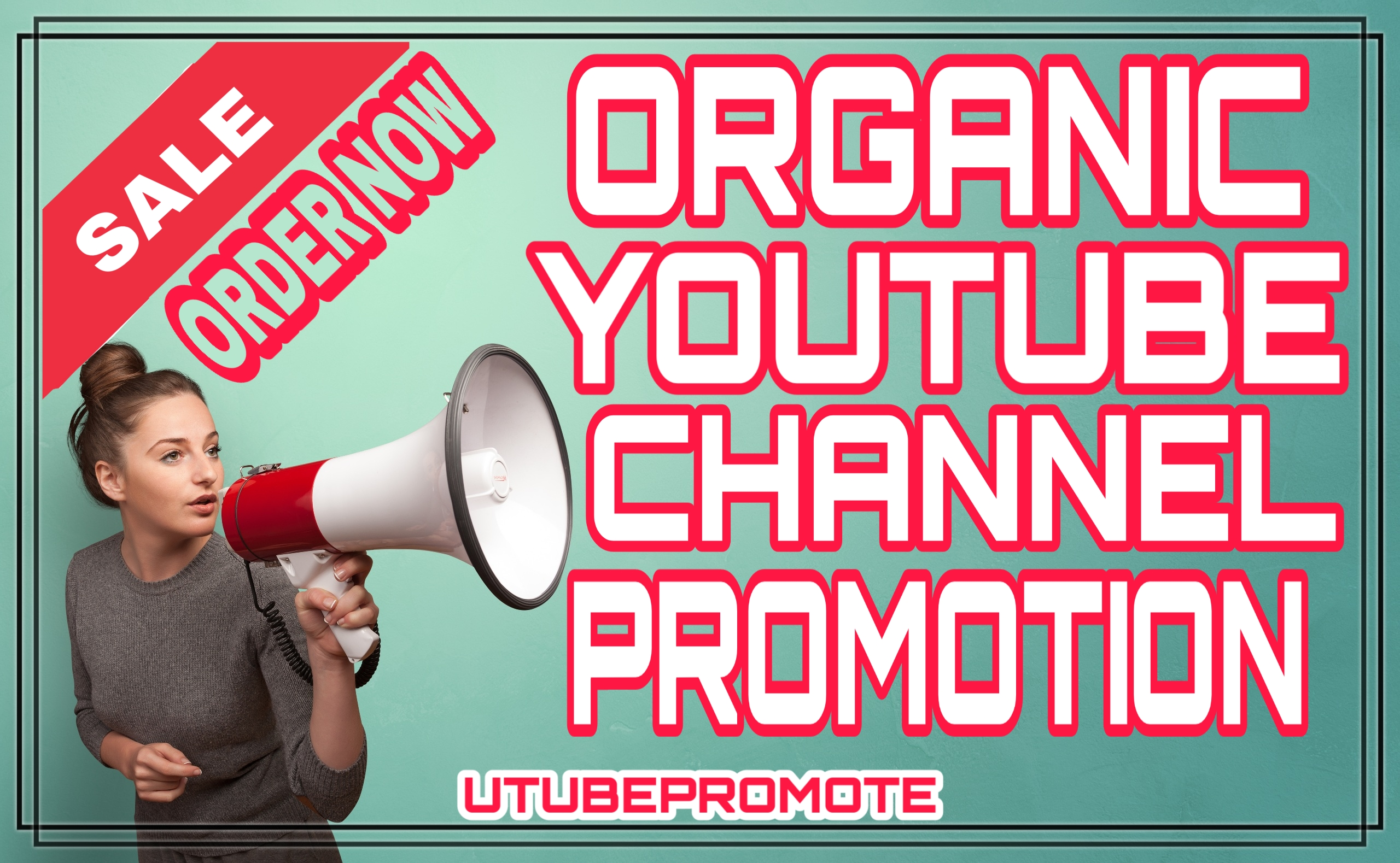 Manually permanent Real & Active youtube promotion and marketing