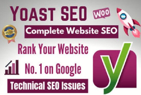 I will do WordPress Yoast SEO on page optimization for Google top ranking