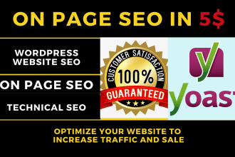Advanced Wordpress Yoast SEO on page optimization with onsite SEO audit report