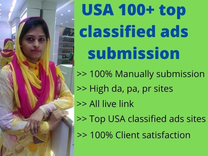 I will publish your ad in USA top classified ads submission sites