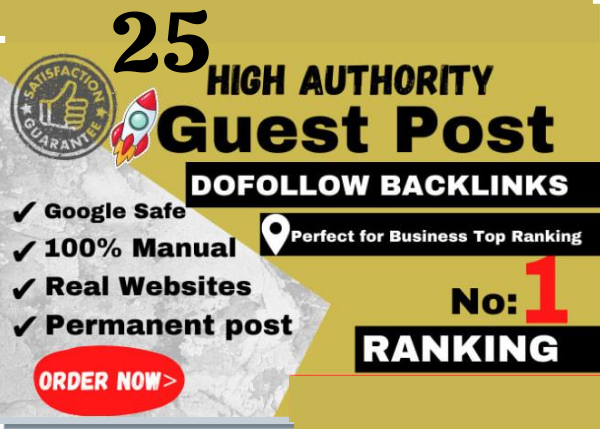 I Will Publish High Quality SEO Guest Post With Backlink on my DA 25 website In 24 Hours