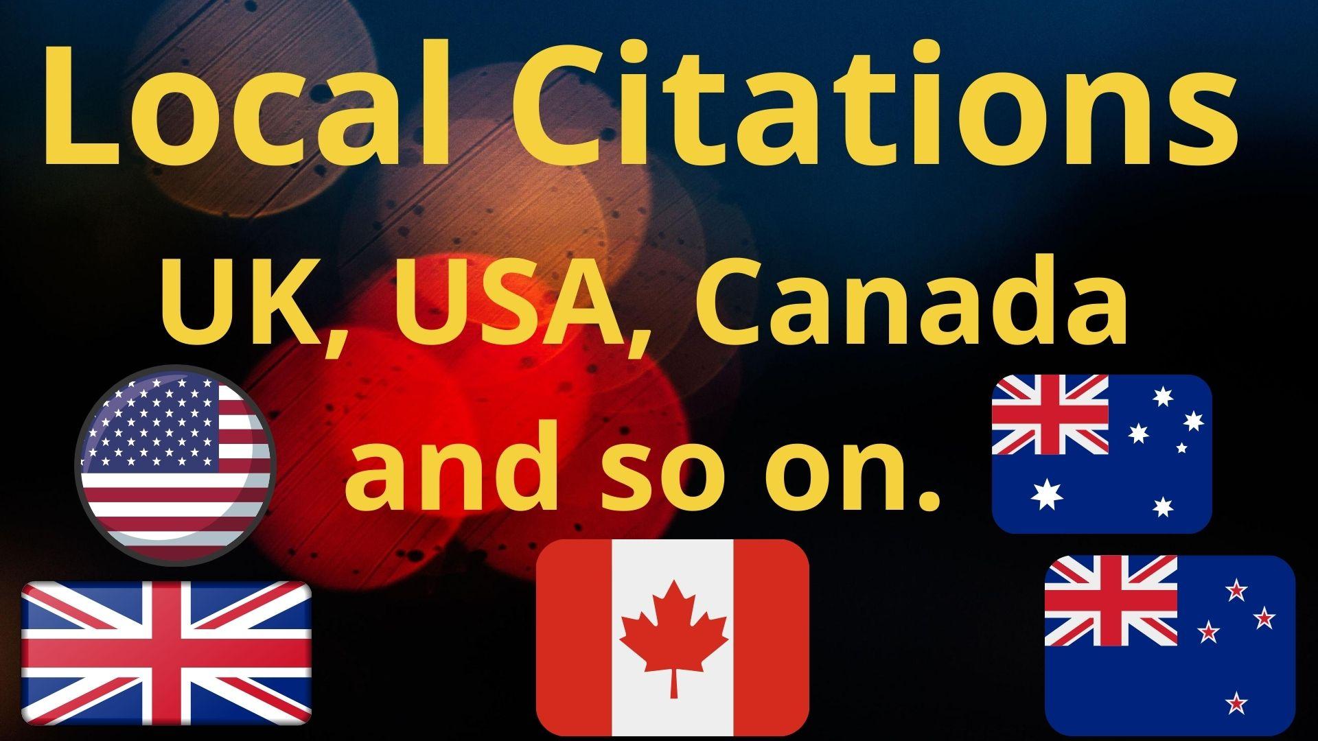 I Will Do High Quality 60 Local Citations.