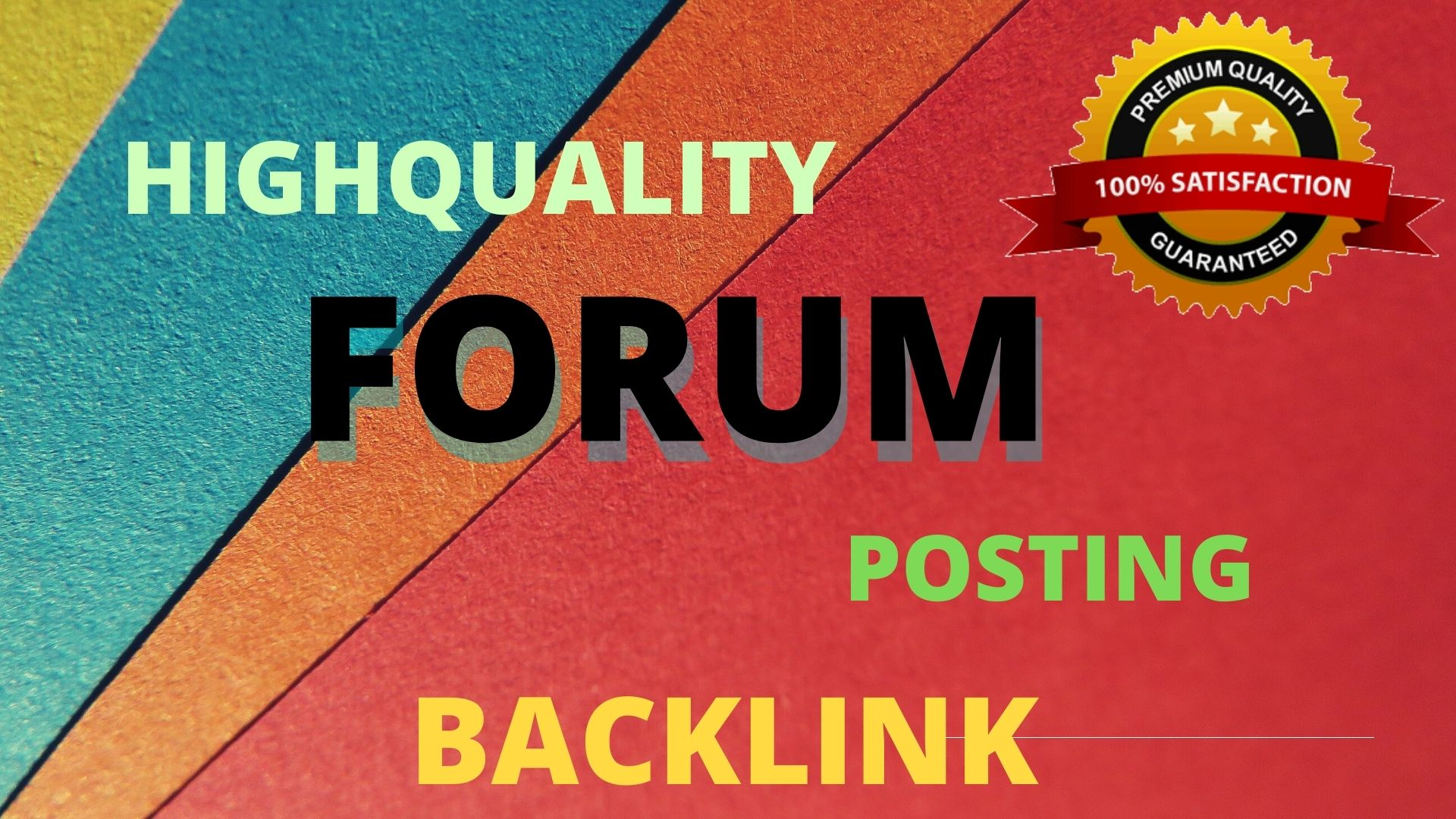 I will submit 12 forum posting.