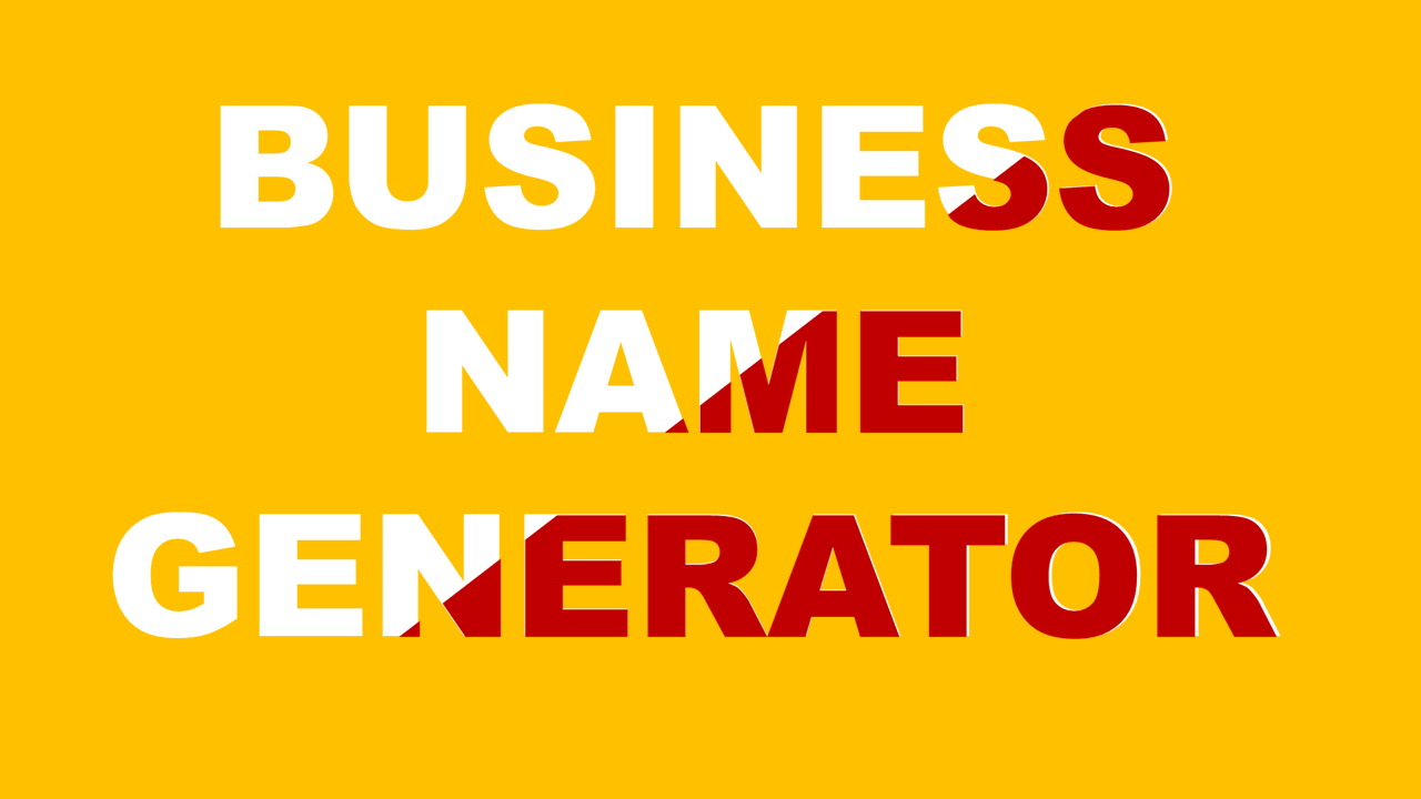 Grant your business creative name