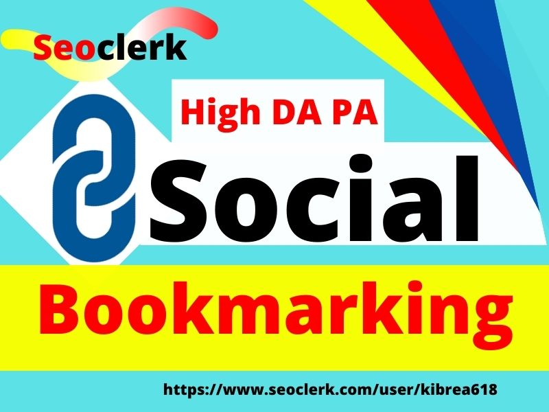 I will provide top 40 social bookmarking submissions for HQ backlinks manually