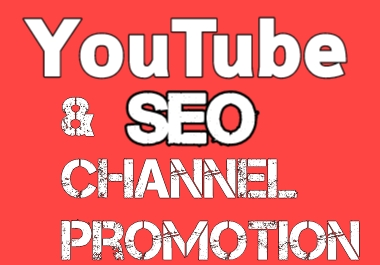 I will Create Account With SEO and Promotion