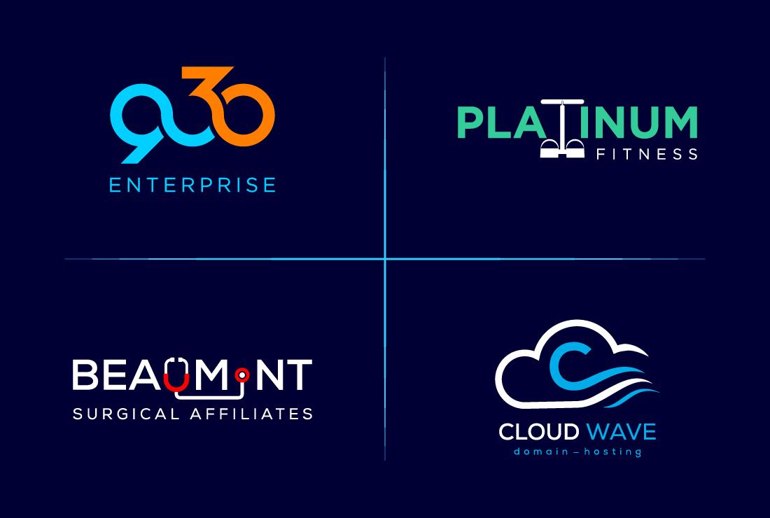 I will do Modern Minimalist,  Unique,  custom,  flat logo design for your business