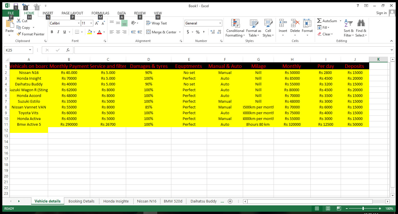 i will do data entry in excel and word for you.