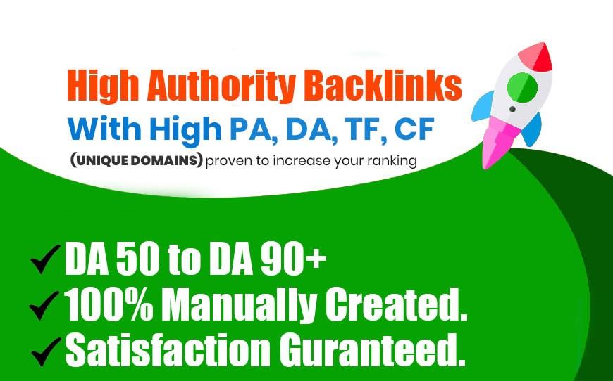 I will Create DA 80+ 40 powerful profile links