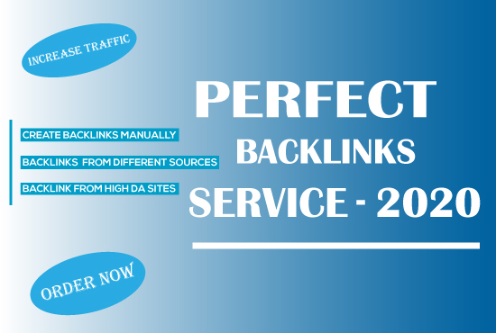 Whitehat perfect SEO backlink service