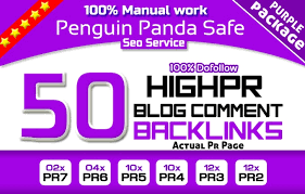 I will build 50 Unique Blog Comment Actual page HIgh da pa Link Manually
