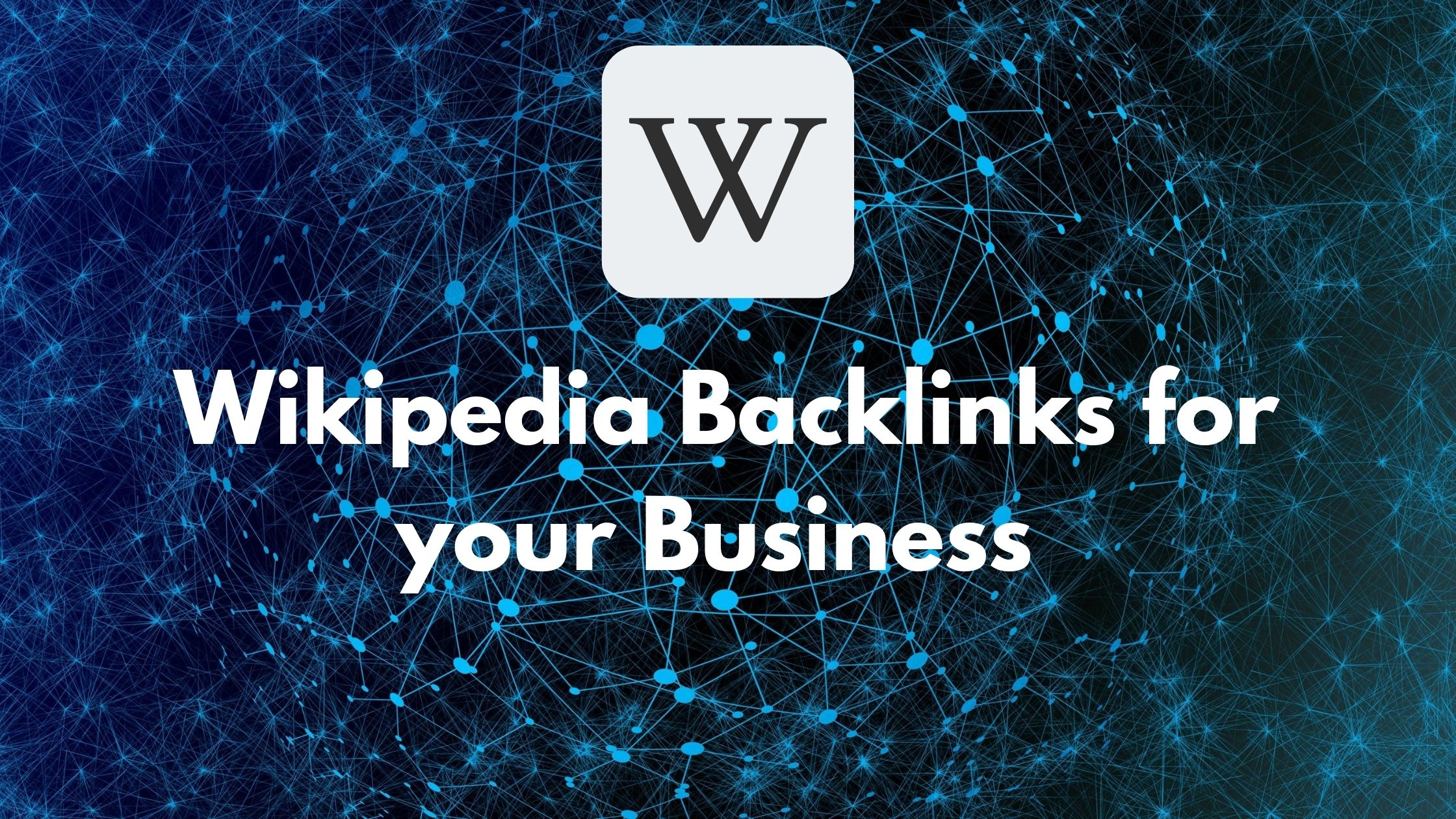 Wikipedia Backlinks for your website