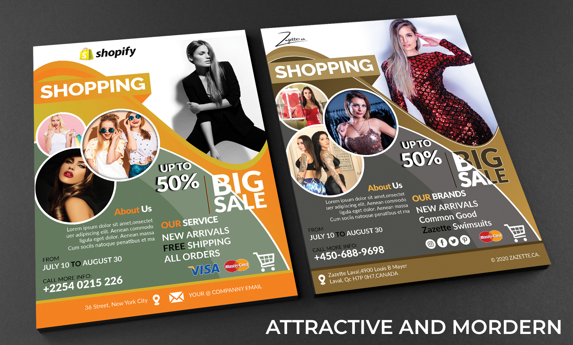 the attractive flyer design within 24h