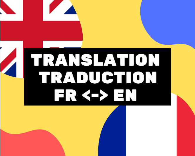 I will translate your document from english to french and vice versa