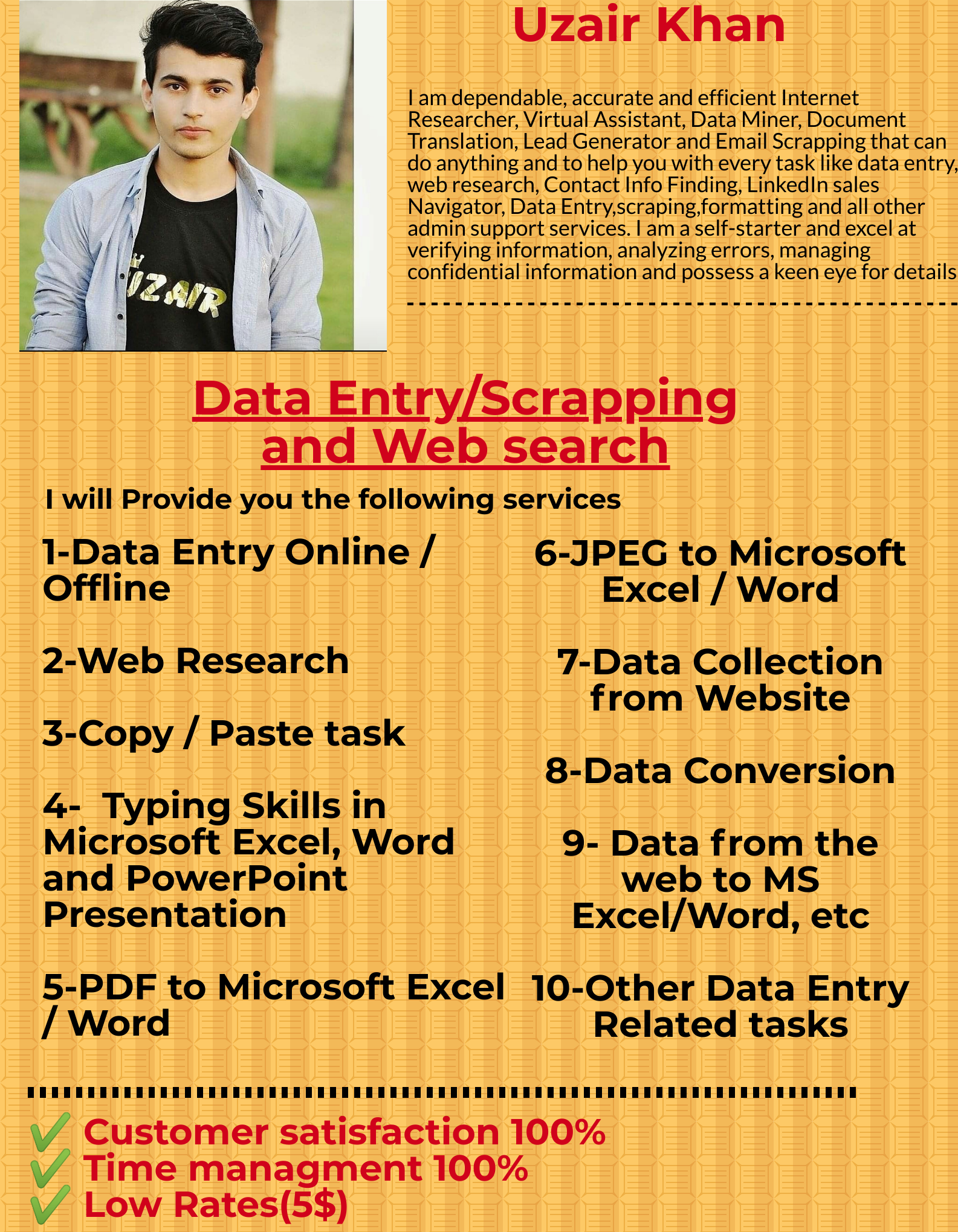 I will do impressive data scrapping and data mining with quality web search