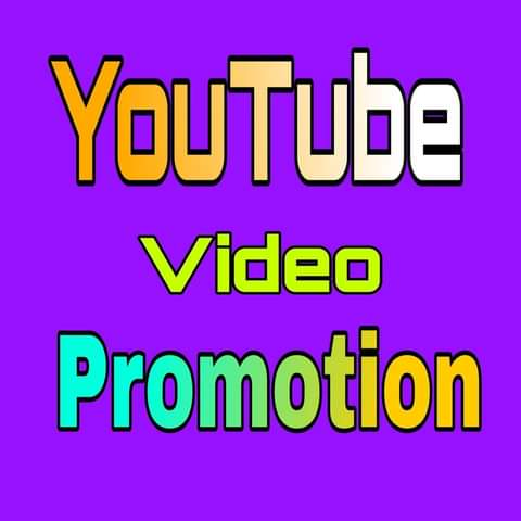 Real YouTube video Promotion by social media marketing.