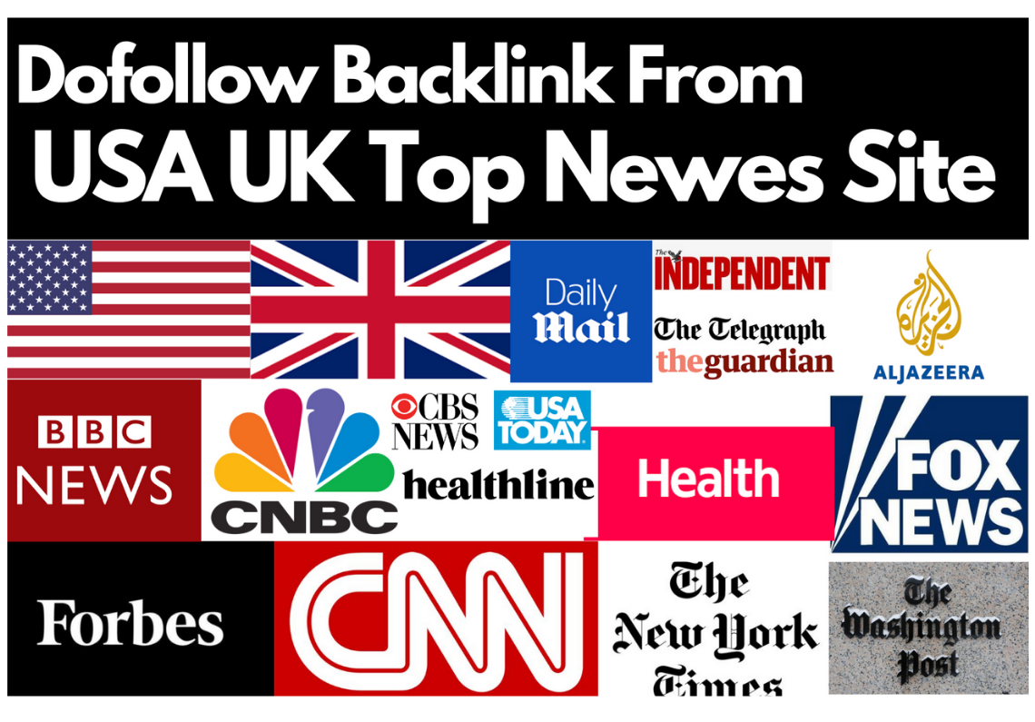 301 Redirect Backlink from top UK, USA news site Forbes,  BBC CNN,  Nytimes,  Guardian, ,  FoxNews