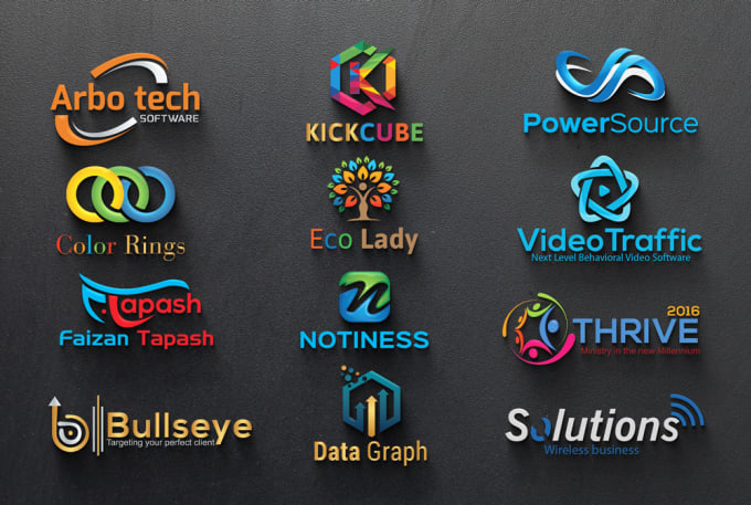 I will create you modern logo desing