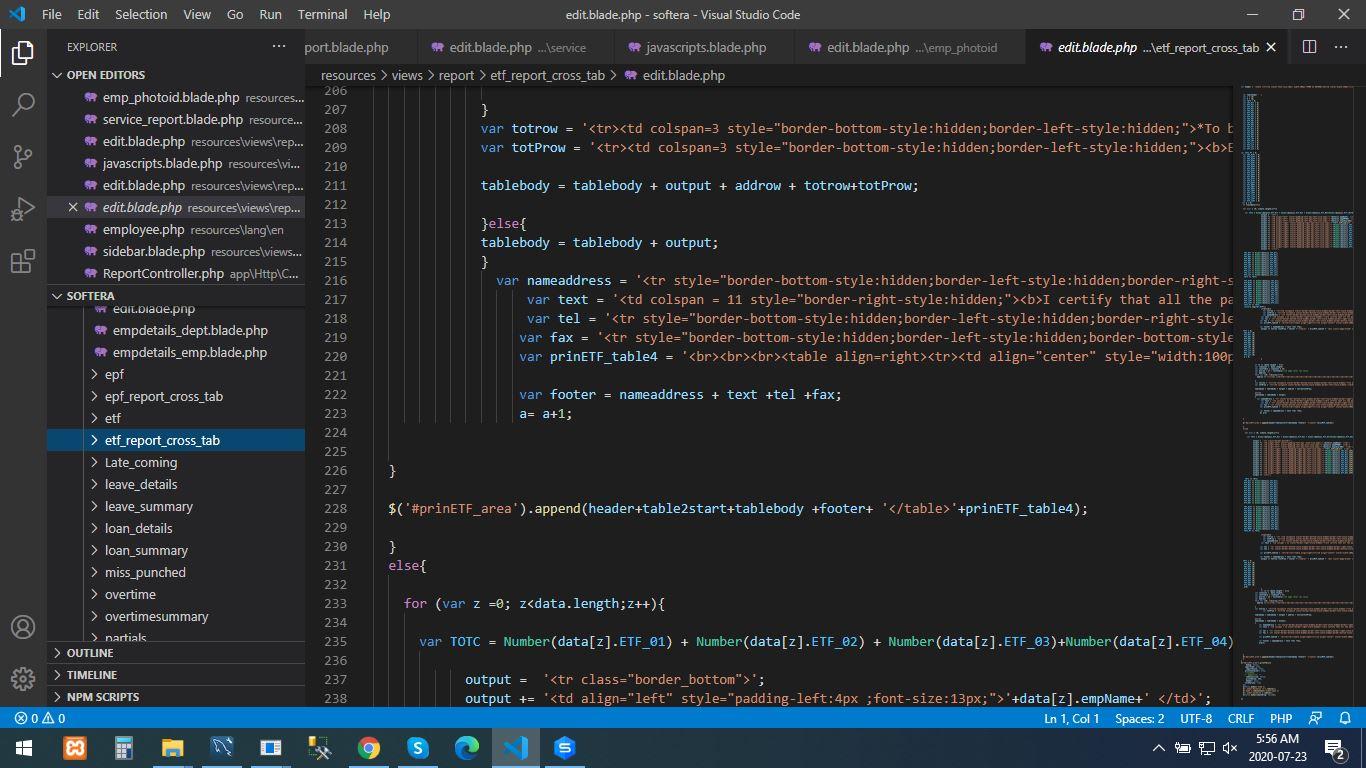 PHP Laravel Web Application Development