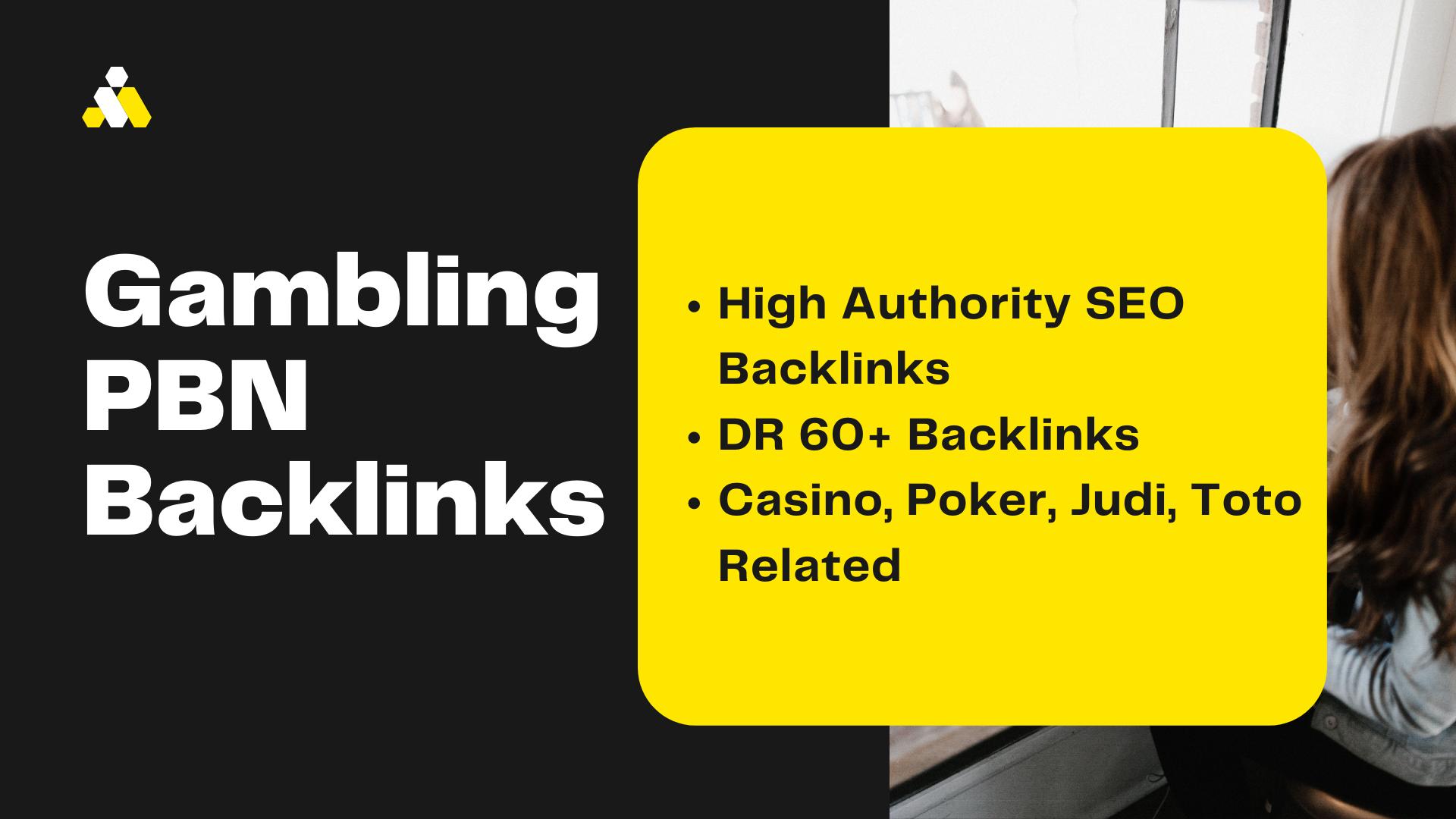 10 Casino,  Poker,  Gambling,  Judi,  Toto Related High Authority SEO DR 50 Plus PBN Backlinks