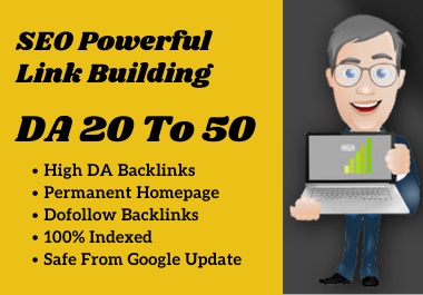 Create 5 High DA 20 to 50 Offpage SEO PBN Backlinks For Google Ranking