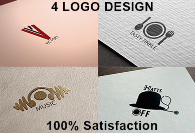 I will design minimalist mordern unique logo with 100% satisfaction