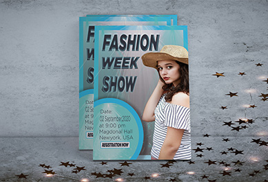 I will design eye-catching, unique, exclusive and professional flyer design for you