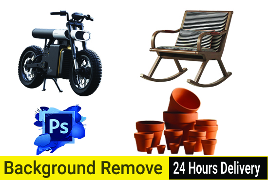 I will do background remove or change background of any 5 images within 6 hours.