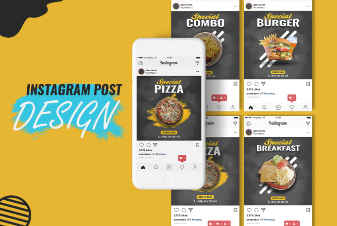 I Will Create Instagram & Facebook Post & Story Design For You