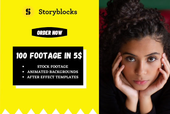 I will give you anything from storyblocks