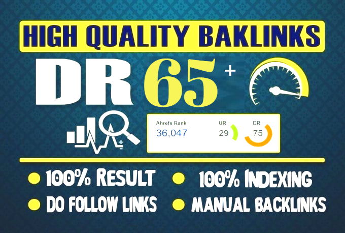 i Will Create DR 50 to 65 PBN Backlinks On 10 Unique Domains PBNs