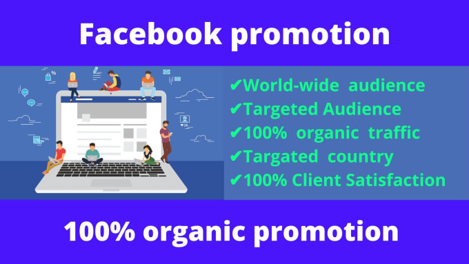I will do promote your any content organically