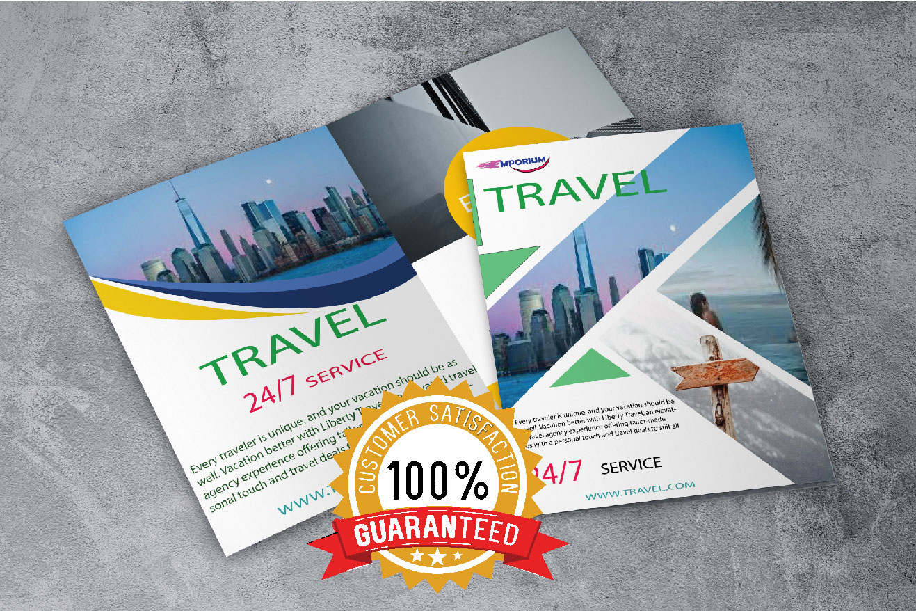 FLYER,  POSTERS and BROCHURES designing service