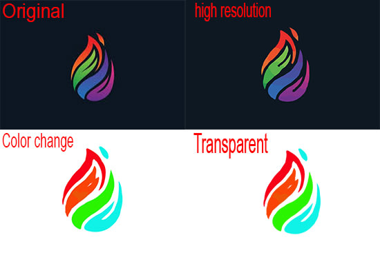 I will do vector tracing logo redesign raster to vector