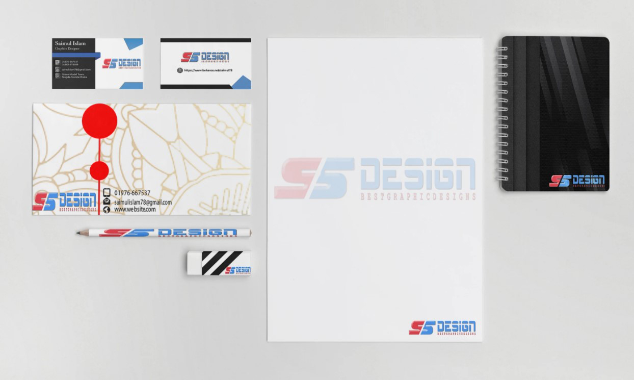 create your complete brand identity and stationery for you