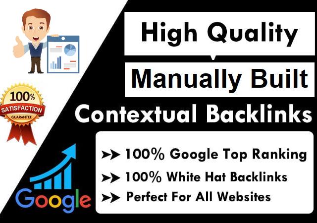 I will Build Powerful Manual Contextual Backlinks - Guaranteed Ranking Boost