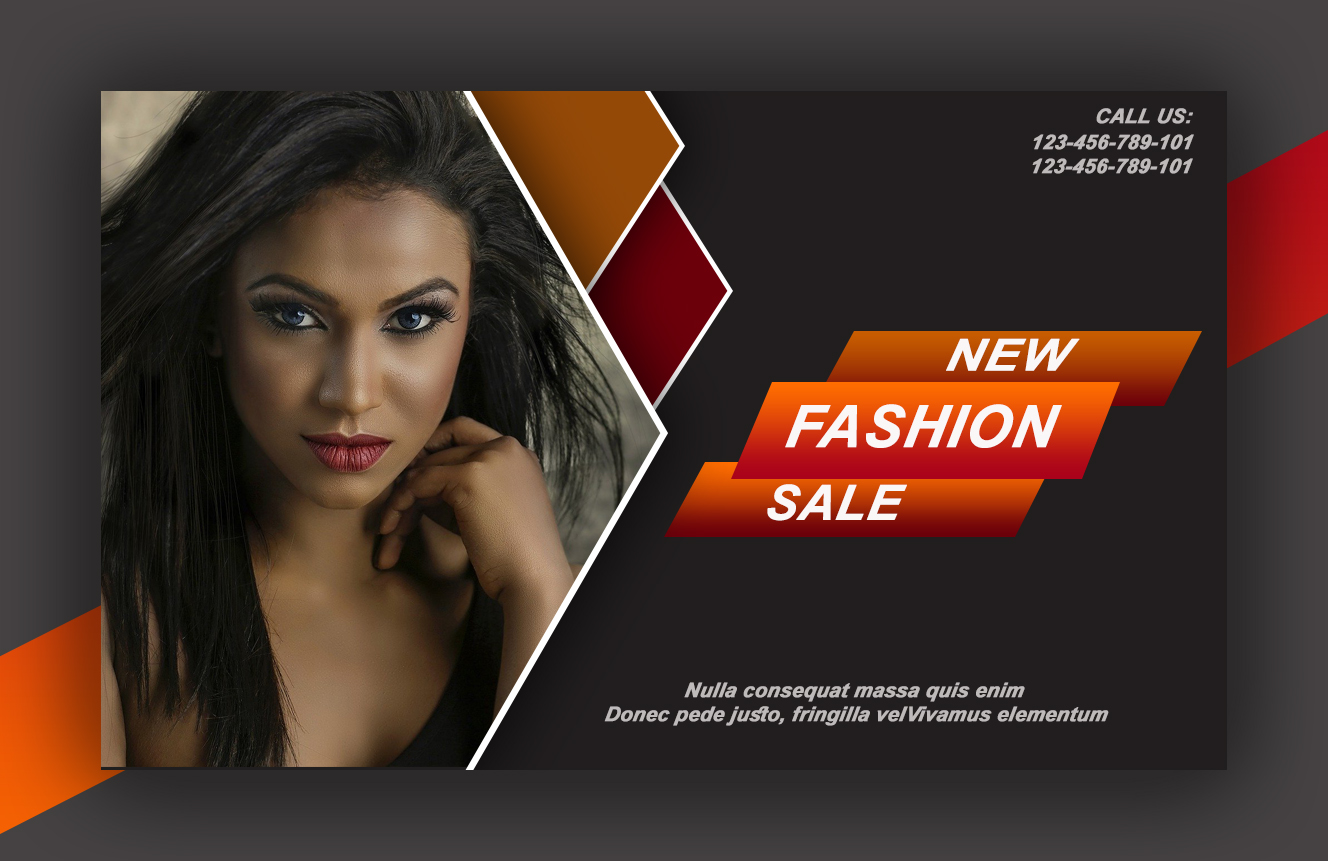 I will do a professional banner, flyer and roll up design