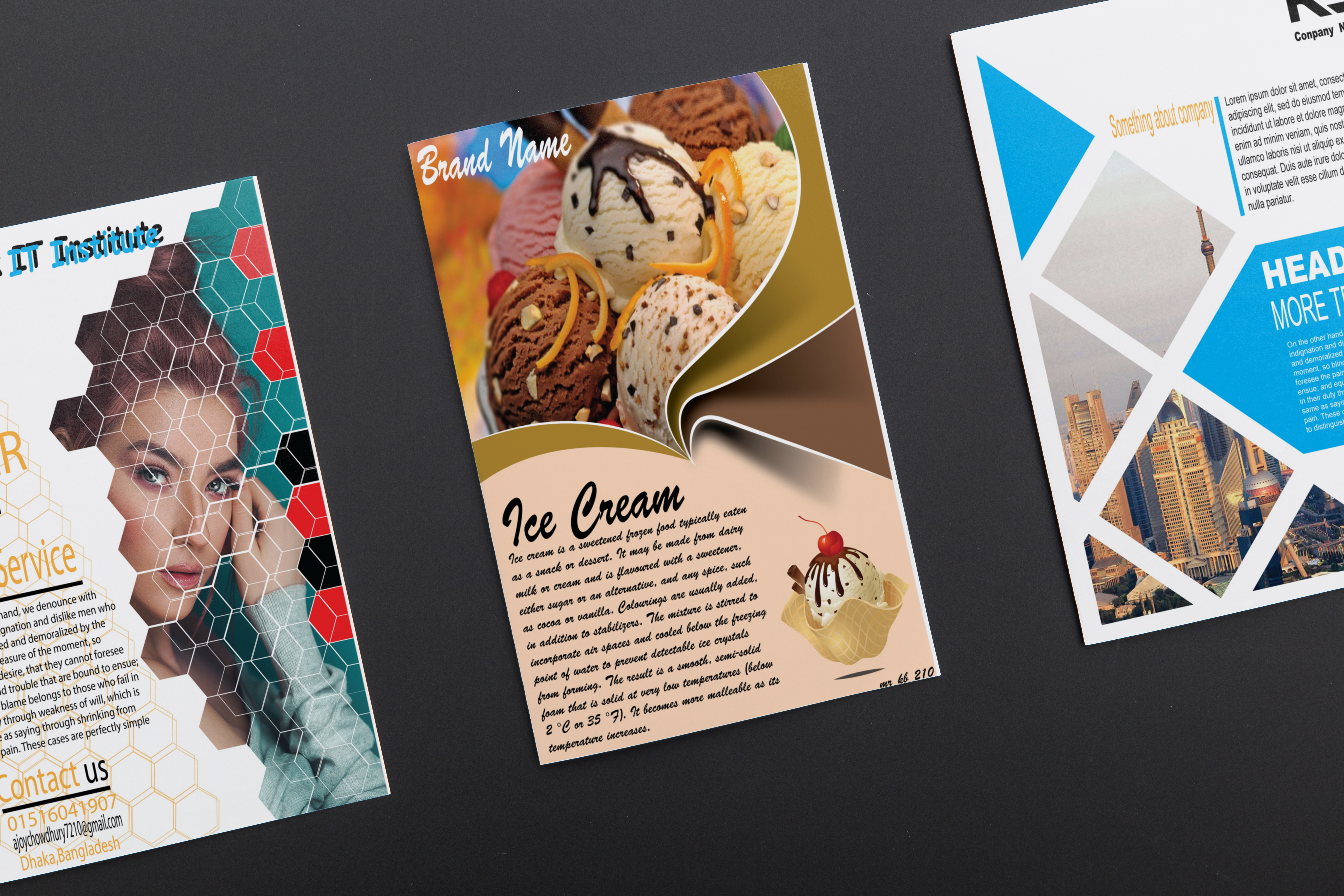 I will design creative and attractive flyer for you