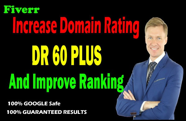 I will increase domain rating authority of your website ahrefs dr 50