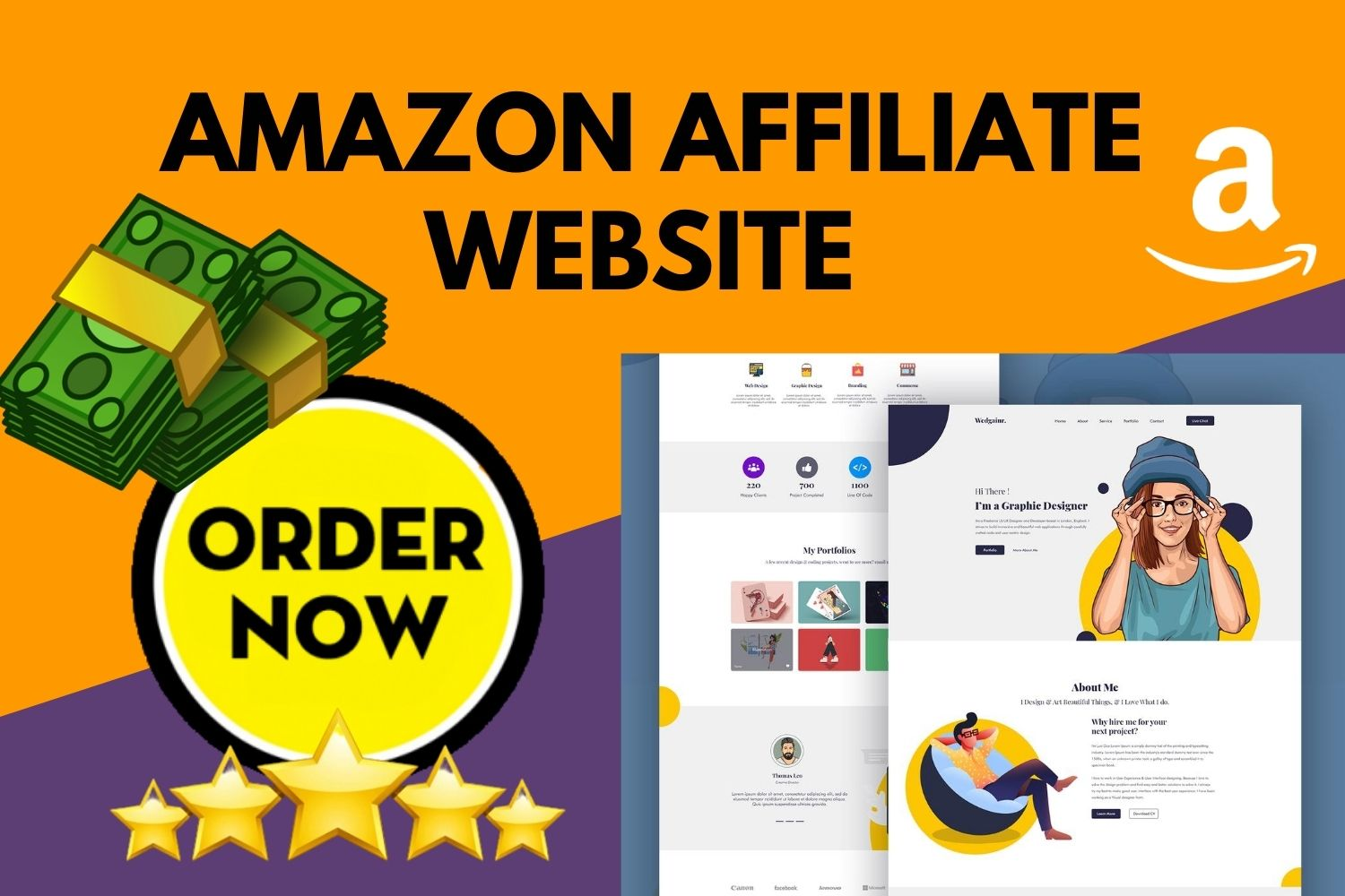 I will setup profitable amazon affiliate website with top products