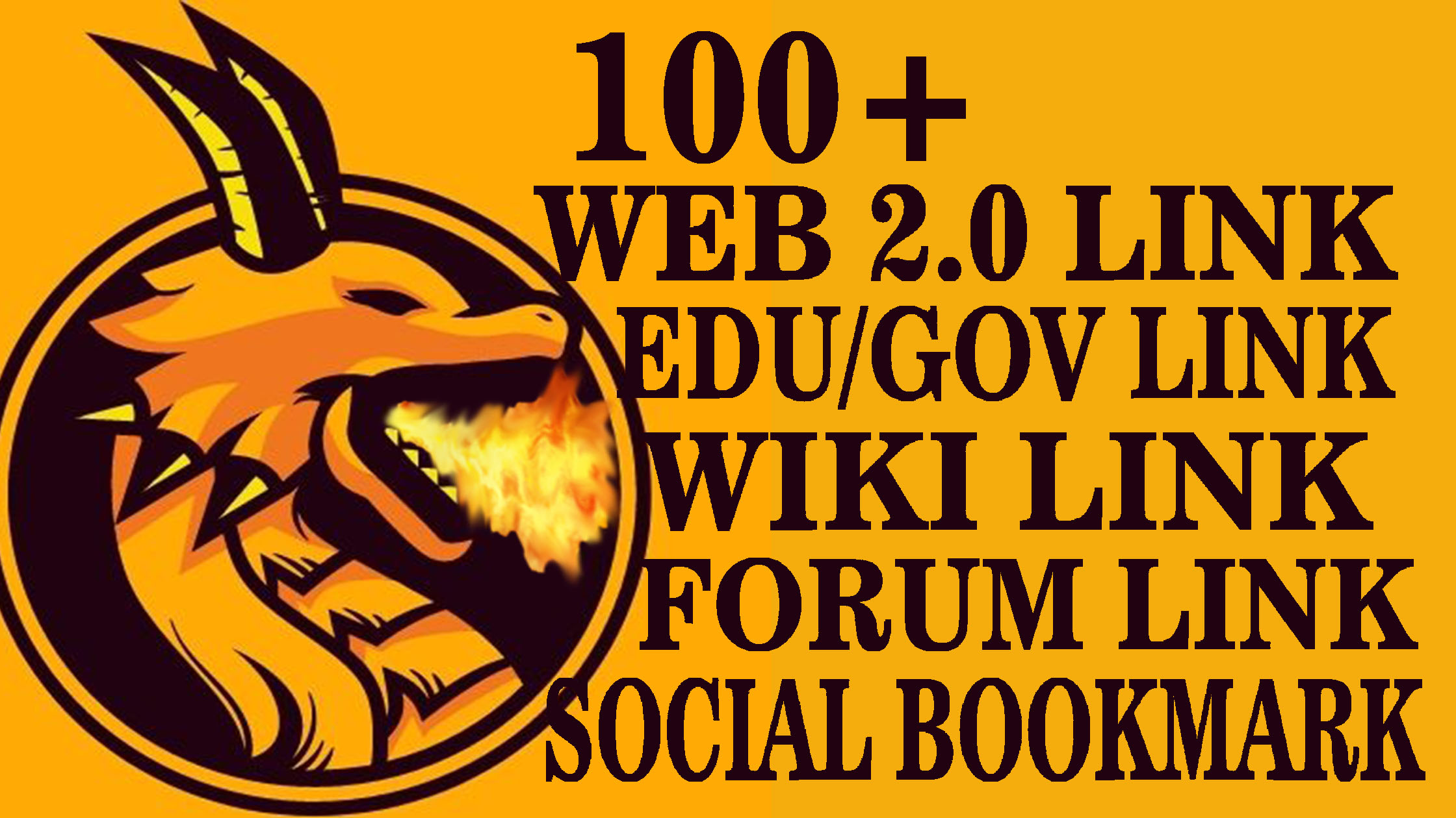 BUMPER PACKAGE, 100+ HIGH QUALITY WEB 2.0 LINK, EDU/GOV LINK, WIKI LINK, SOCIAL BOOKMARK & FORUM LINK