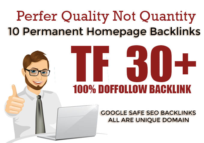 I will Provide you 10 high TF 30+ Pbn Backlinks