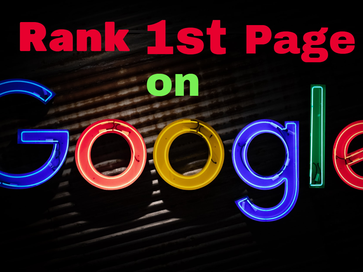 Rank First Page on GOOGLE with White Hat SEO Techniques.